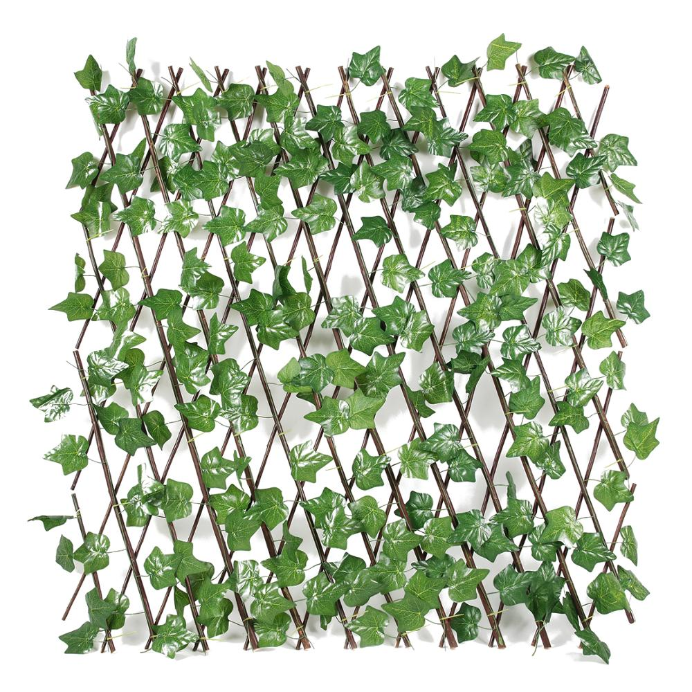 Wholesale Plastic Artificial Leaf Faux Expandable Trellis ...