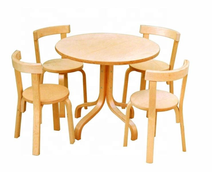 Удобный детский обеденный стул и стол из bentwood, детский игровой стол для школы и детского сада, стул для Кабинета