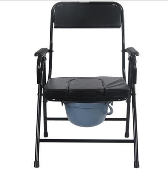 Adult Bedside Handicap Seat Bucket Toilet Commode Potty Chair