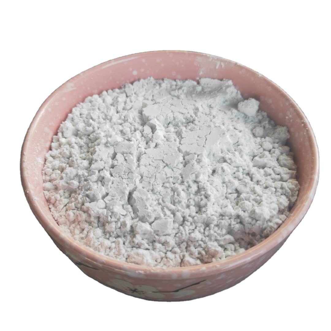China Kaolin Powder 91% Brightness Ceramics Used Utra White Superfine 325 Mesh Calcined Kaolin clay