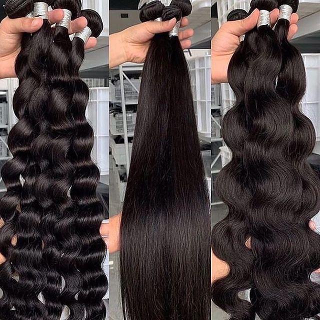 Wholesale 8-40 Inch Brazilian Human Hair 100% Remy Human Hair Bundles Unprocessed Human Hair Extension