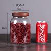 1250ml Glass Food Jar With Lid