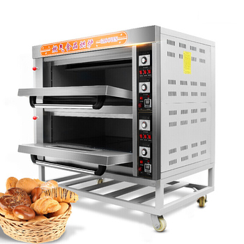 Commercial Luxurious Gas Oven for bread bakery