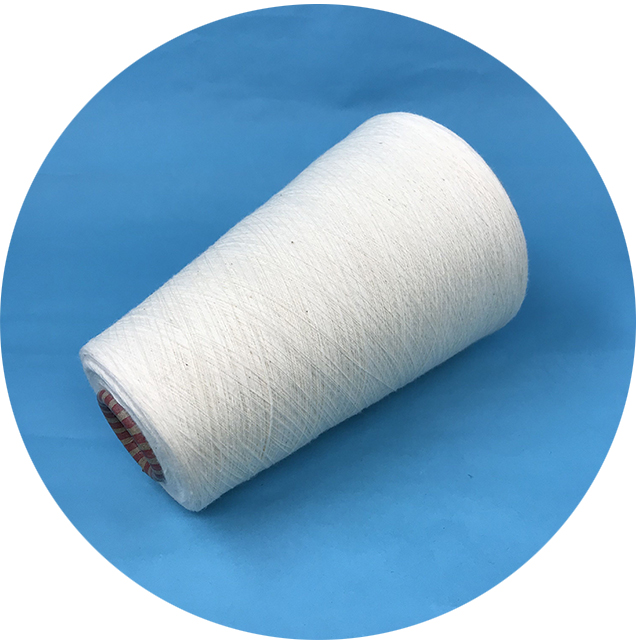 white NM28 nylon cotton yarn for socks