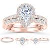 27;Rose Gold;Ring Set 2