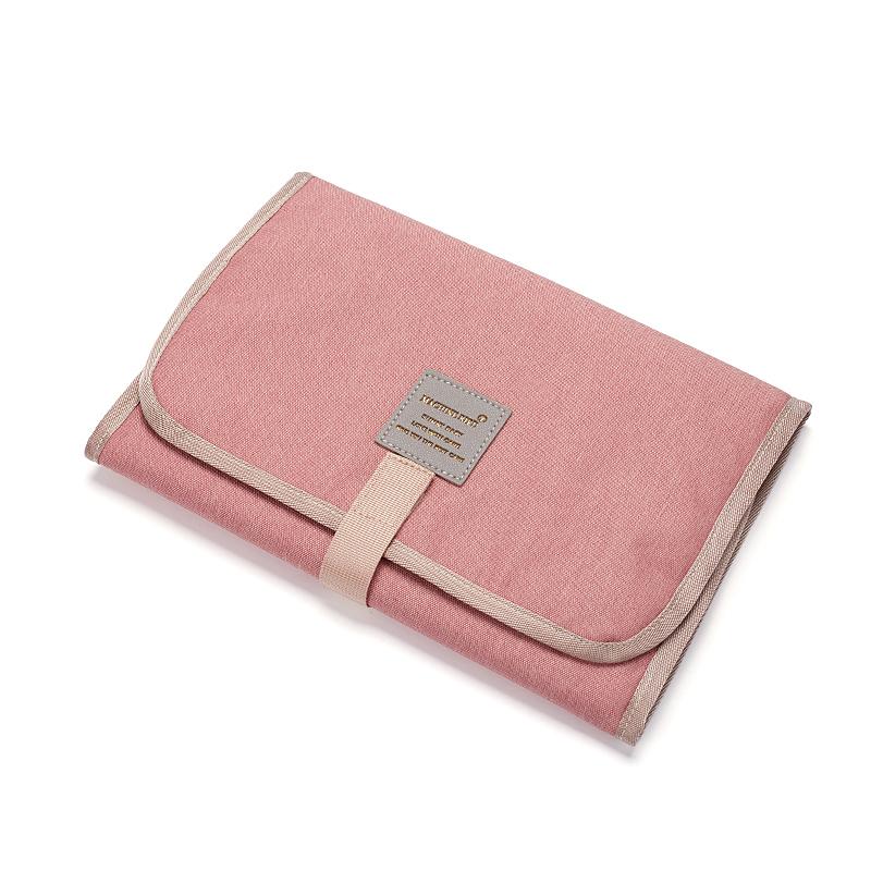 Amazon hot sale multi-function stylish Premium capacity Mummy Baby Diaper Bag Handbag type changing pad