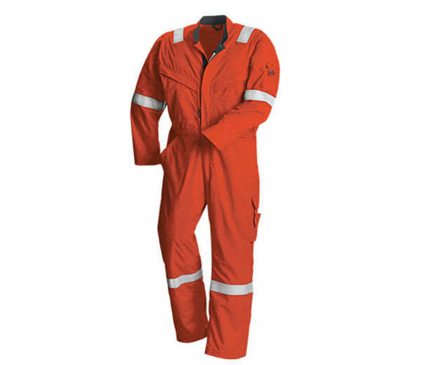Protective Clothing Wholesale 100%Cotton Flame Resistant Clothing in Navy Roayl Red Orange Color - KingCare | KingCare.net