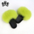 Fashionable Women Slides New Design Indoor Natural Color Fox Fur Slippers