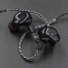 Headphones KZ ZS3 1DD Cable Detachable Ergonomic Headset In Ear Monitors Audio Insulation Noise Music Sports Headphones With Microphone