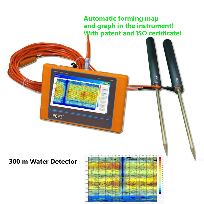 300M full automatic mapping water seeker/underground water detector