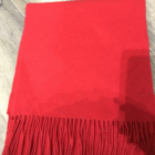 Red Scarf Chinese Red Wool Scarf 100% Wool Scarves Hot Sale Scarf With Fringes