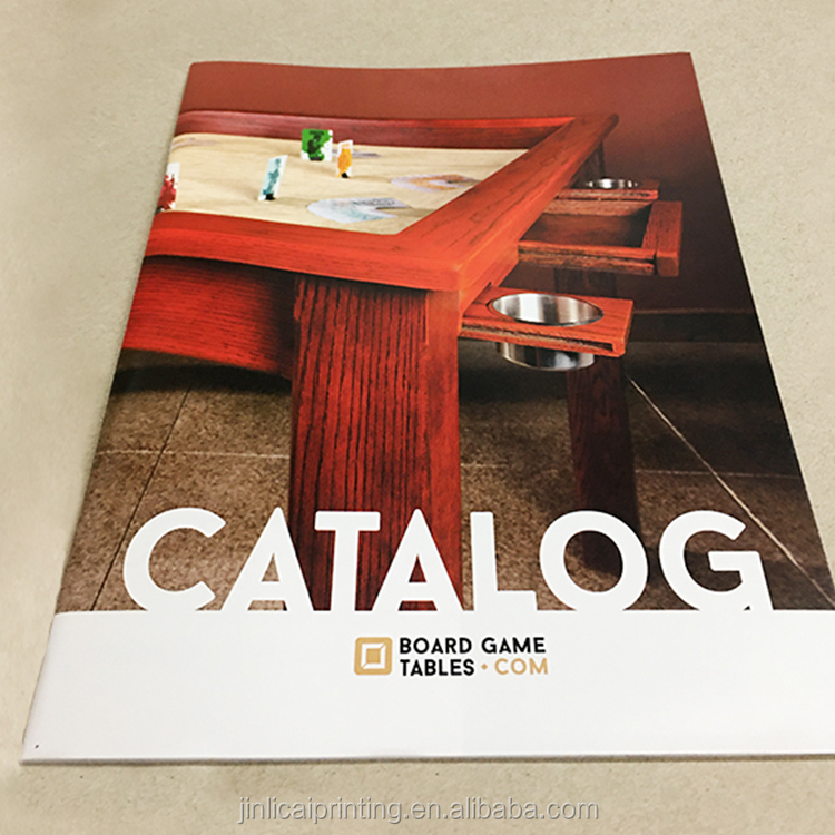 Direct factory price softcover catalog magazine printing service in China