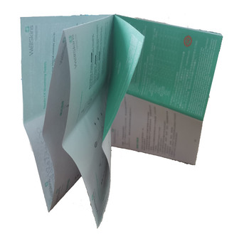 High Quality Best Price Best Sale Fold Manual Paper Instruction