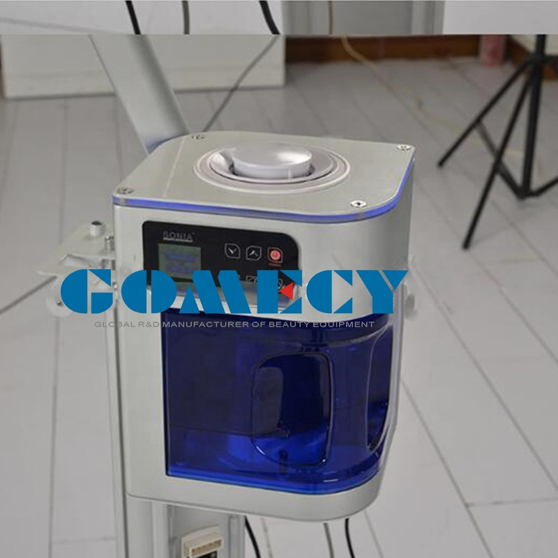 GOMECY standing cool steamer face usage steamer professional device for beauty spa facial clinic usage GMS2209