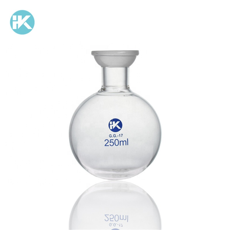 Lab glassware Boro 3.3 glass Round bottom flask with Ball-joint