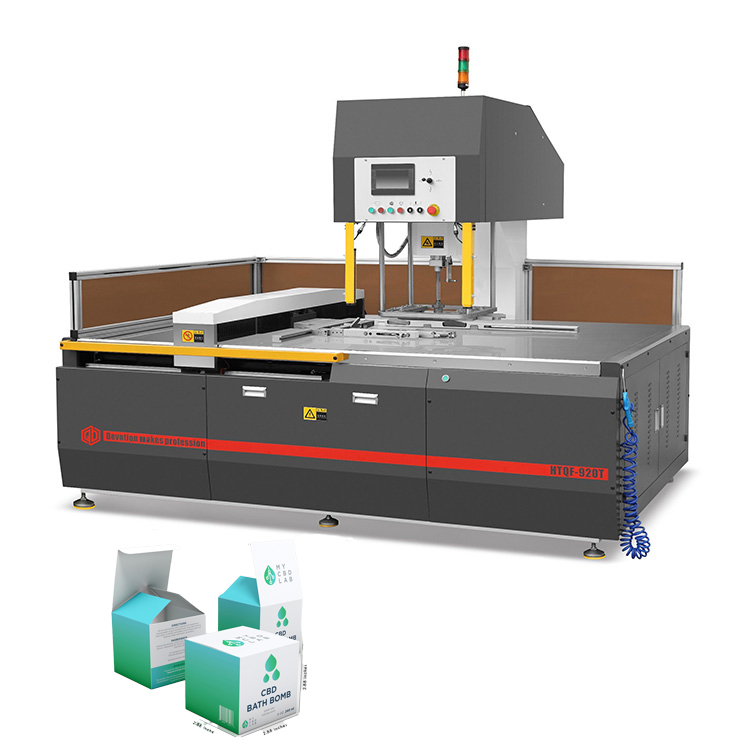China cardboard waste paper stripping machine for cosmetic boxes