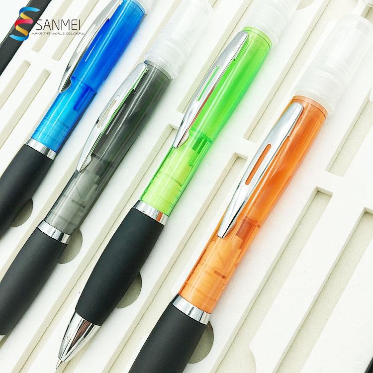 Персональный медицинский спрей с логотипом дезинфицирующее средство ручка карманная шариковая ручка с распылителем