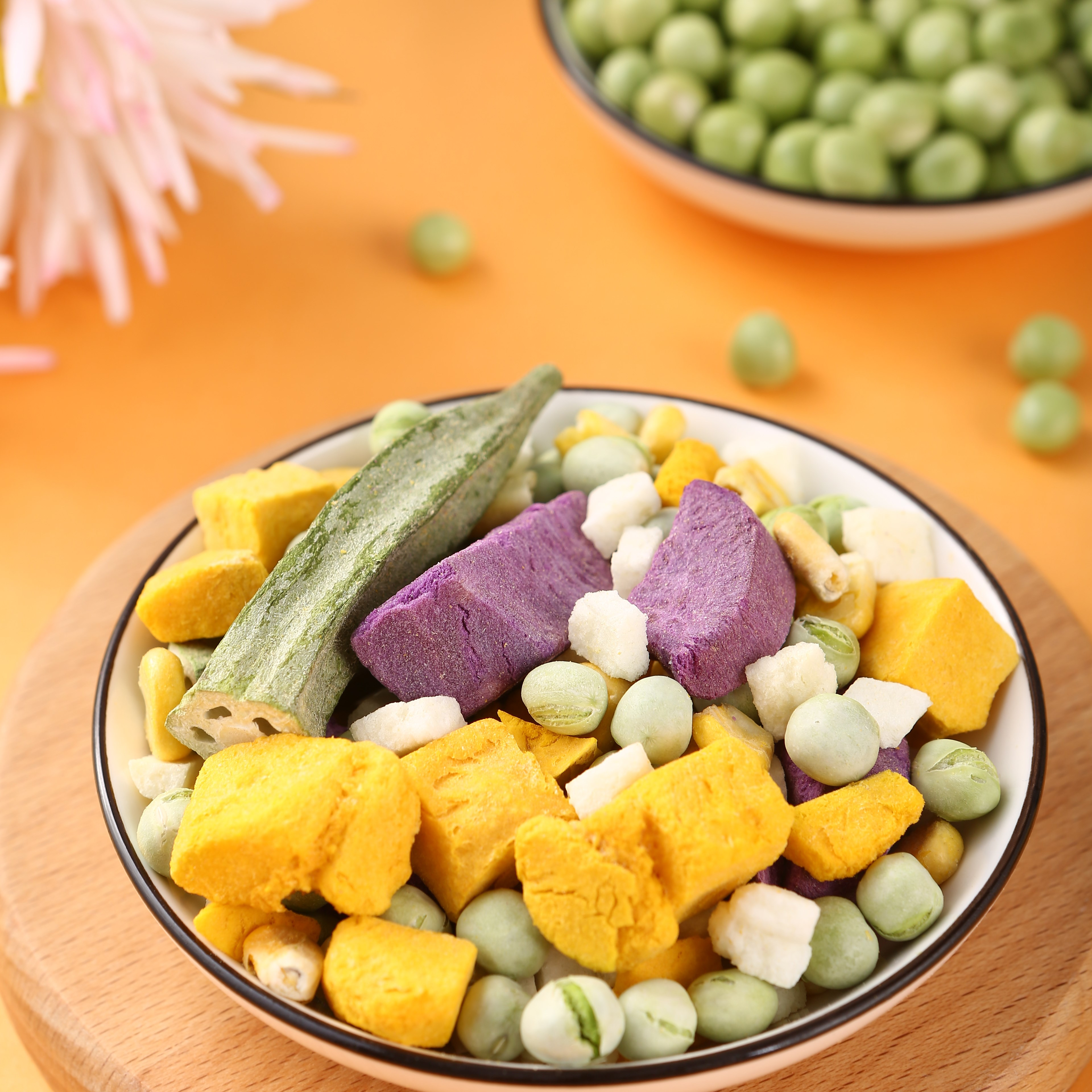 Freeze Dried healthy vegetables dried Green Pea bulk wholesale