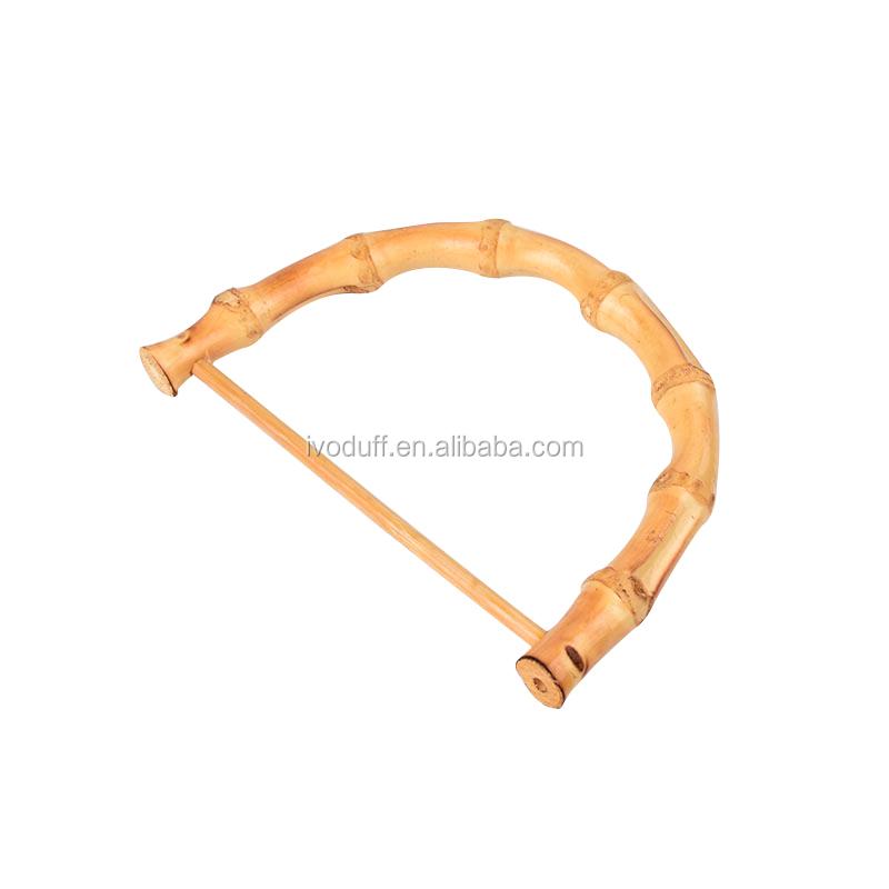 Ivoduff 1 шт. бамбуковый сумка ручка Замена для поделок сумки портмоне для изготовления аксессуары для сумок