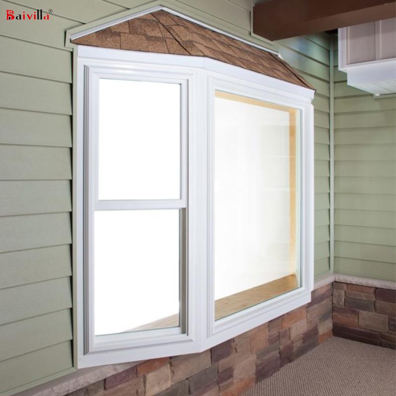 Алюминиевое эркерное окно на заказ с вертикальной раздвижной системой окна для виллы, жилых помещений в Европе, фабрика фошань