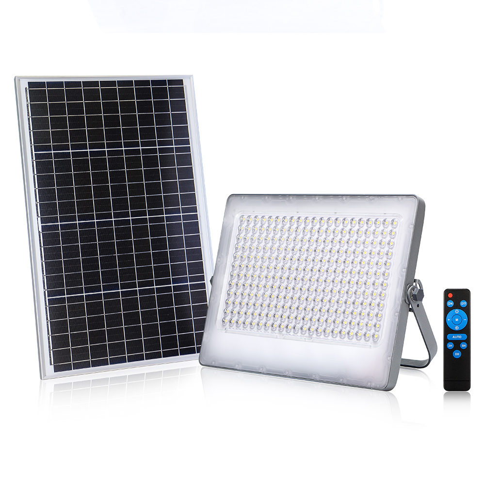 KCD wholesale reasonable price advanced technology 300w 200w 100w solar led flood light tennis court for high pole