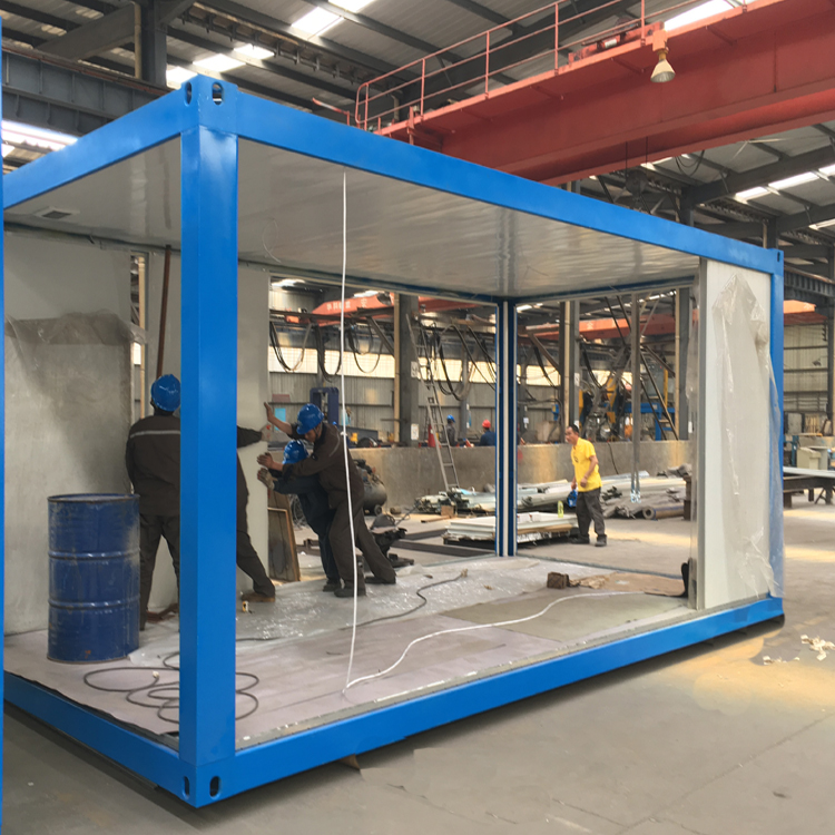 Prefabricated Expandable Living House 20 Ft Prefab Container