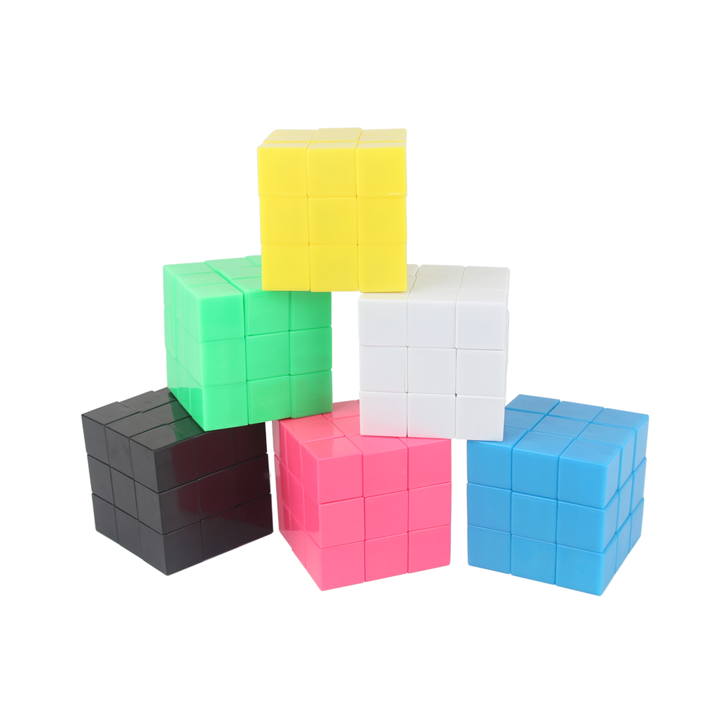 Hot sale hexahedral absorbable geometry building blocks primary school mathematics teaching aids 20 2.5cm Plastic magnetic cubes