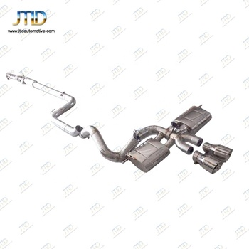 made in China performance exhaust system Exhaust valvetronic catback with remote control for Ford focus ST 2.0t