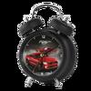Noir quartz alarme horloge