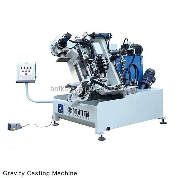 DL-450/DL-550 Brass Zinc Gravity Die Casting Machine,Metal Casting Machine Brass Aluminum Alloy Casting Machine