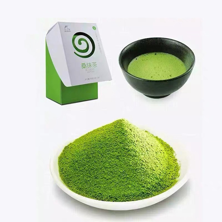Hot sale weight loss supplement 2g 30 bags of natural mulberry leaf extract matcha powder - 4uTea | 4uTea.com