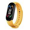 Yellow M6 Smart Watch