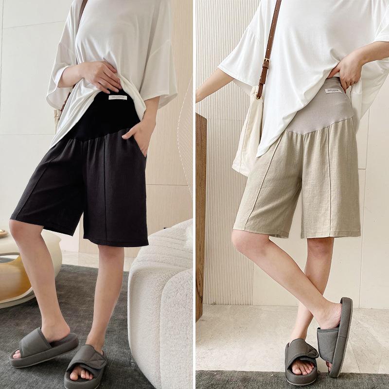 Роскошные летние шорты для беременных 2124PP с эластичным поясом