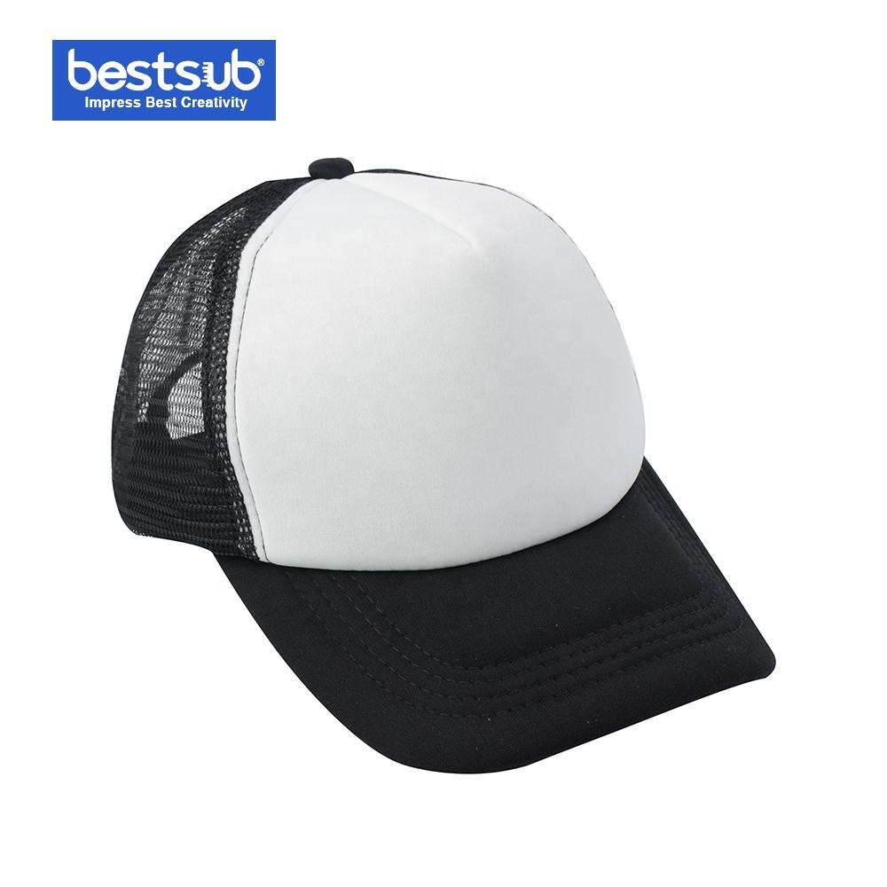 MZP01K BestSub Wholesale Sublimation Blanks Sports Cap Adult Baseball Cap With Custom Pattern