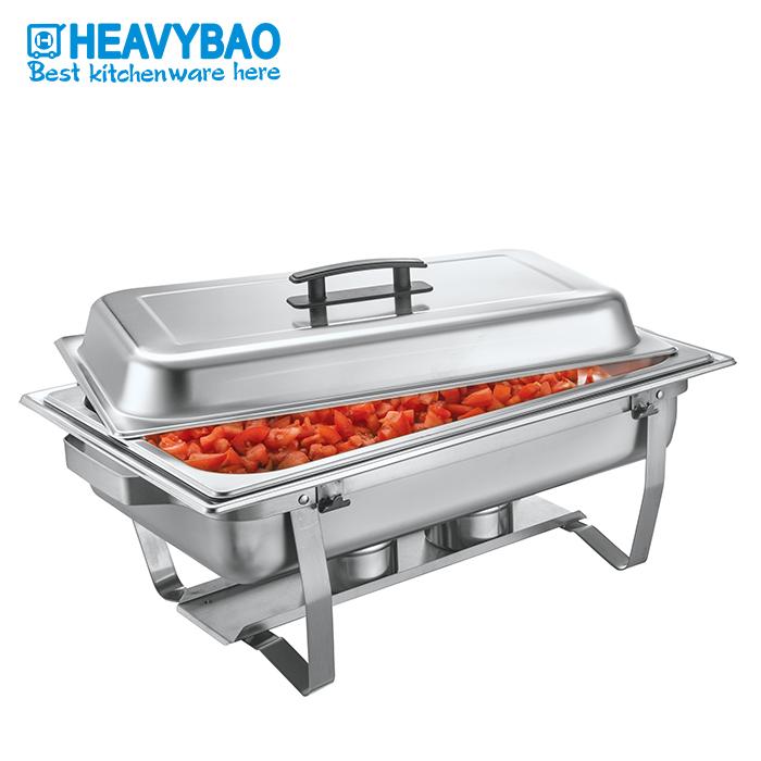 Heavybao коммерческий, гостиничный, кухонный, из нержавеющей стали, набор для буфета, подогреватели еды, жаровня, посуда для кейтеринга