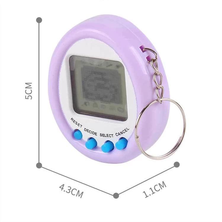 2021 Новый тамагочи электронные игрушки подарочные брелки на домашние животные игрушки, подарок на Рождество, образовательные увлекательные 90S Ностальгический виртуальной кибернетический питомец игрушка