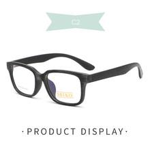 Квадратные прозрачные очки BSXY016, ретро очки, Женская оптическая оправа, мужские очки с большим лицом, тонкие, могут быть оснащены очками для ...(China)