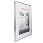 Photo Hanging Photo Frames Large Poster Photo Frame Modern Plexi-Glass Wall Hanging Poster Picture Photo Frame