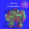 Dot UV Glow Balloons
