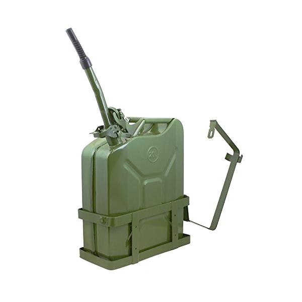 5 галлонов 20 л 20 л Газ дизельное топливо НАТО Военный танк стальной металлический держатель канистра