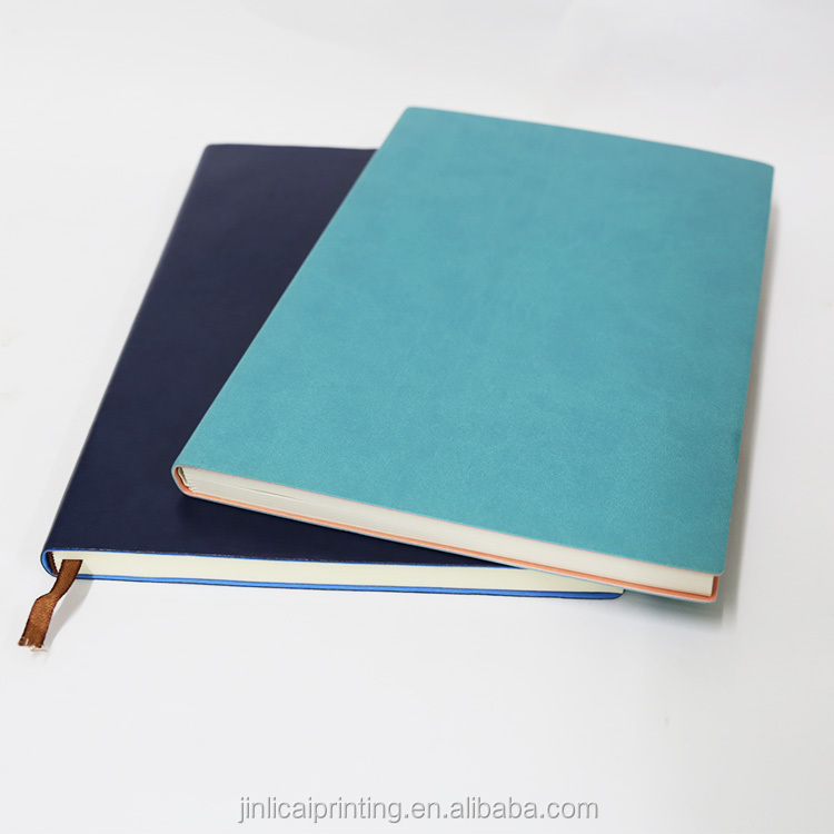 OEM foil stamped hardcover a5 b5 journal notebook with logo printing