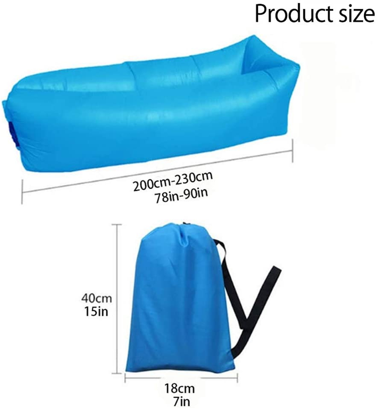 High Quality Airsofa Laybag Lazy Boy Recliner Inflatable Couch Lounger Camping Air Mattress Sofa Beach Sleeping Lazy Bag