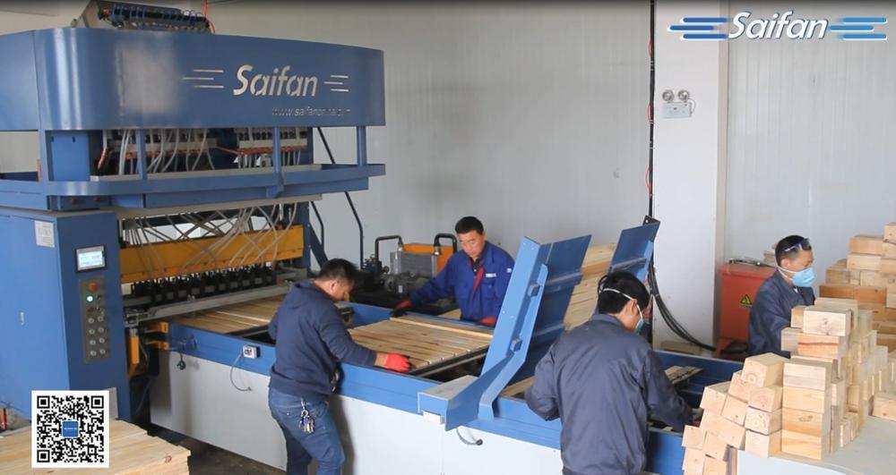 Высокоэффективная автоматическая леска для забивания деревянных блоков