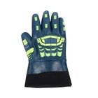Well-Made And Durable Nylon Nitrile Coated Mechanical Mechanix Working Gloves