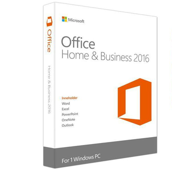 Software Microsoft Office 2016 Home and Business License Key Activated by Telephone Activation Code Download