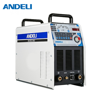 ANDELI inverter ac dc digital square wave pulse tig TIG-250PAC tig aluminum with aluminum alloy tig welder