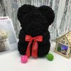 25cm of bear Black