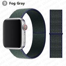 Ремешок для Apple Watch 3 38 мм 42 мм 40 мм 44 мм ремешок для часов аксессуары нейлоновый спортивный браслет iWatch series 5 4 40mm 44mm(Китай)