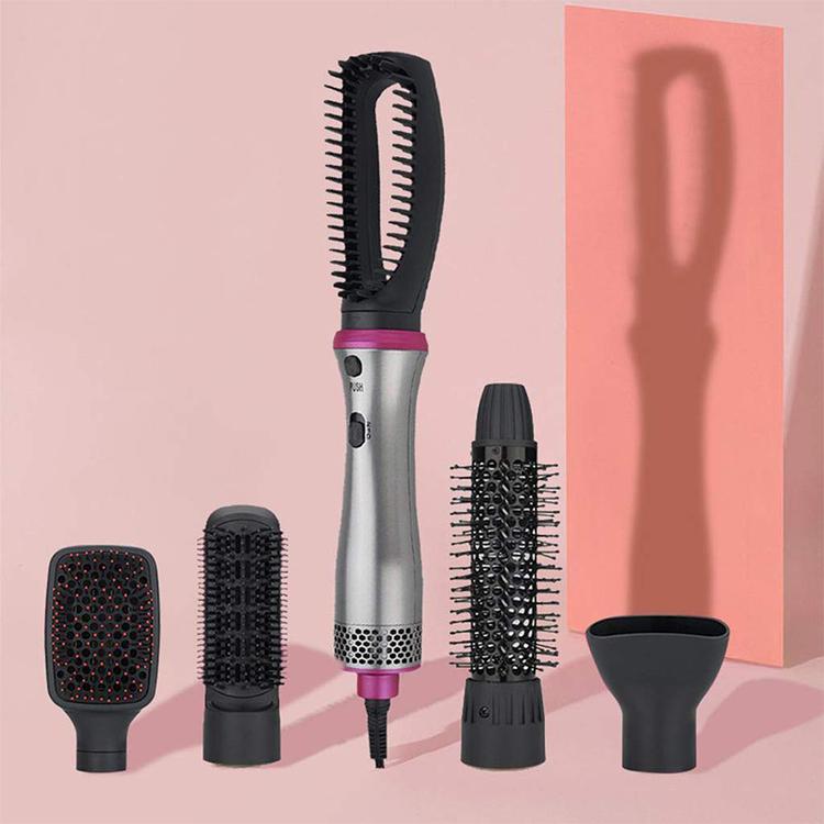 5 в 1 Расческа с отрицательными ионами для укладки, электрическая расческа, один шаг, фен для волос, горячий воздух, щетка для выпрямления волос, фен, расческа