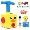 Yellow duck+Balloon *12+ car *2+Launch pad+crab